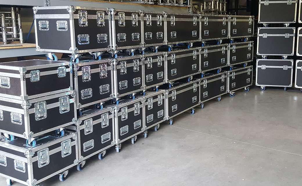 Kabel flightcases